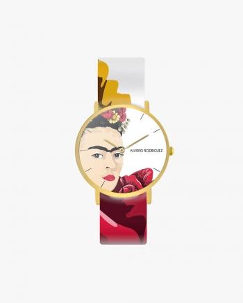 Frida White Watch
