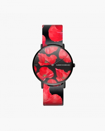 Black Poppy Watch