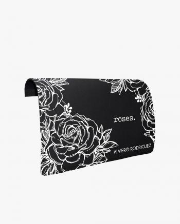 Roses White flap