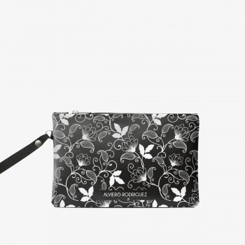 Pochette White Flowers