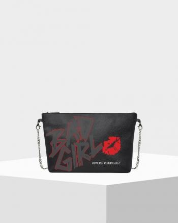 Diva Bag Saffiano Black Bad...