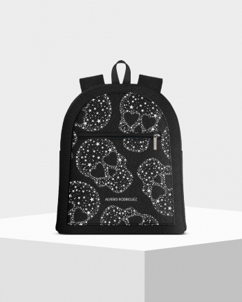 Musk Skull Stars Zip Backpack