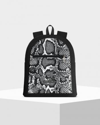 Musk Whitemamba Zip Backpack