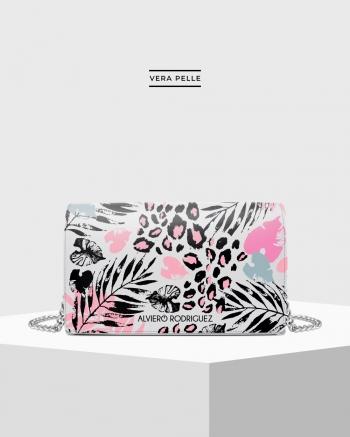 White Pink Life Bag