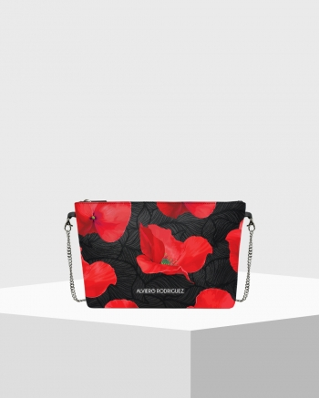 Diva Bag Saffiano Poppy