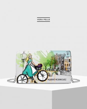 Borsa Bianca Amsterdam Cartoon