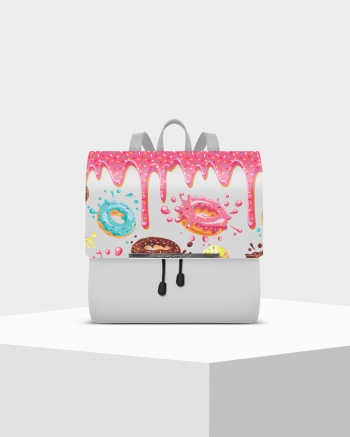 DONUTS LUX WHITE BACKPACK