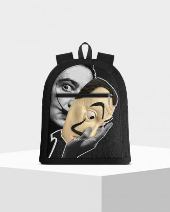 Musk Dalì Mask zip backpack