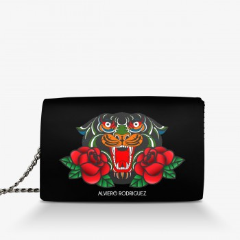 Borsa Panther and Roses