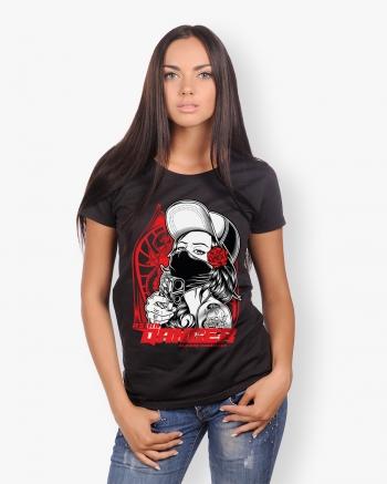 Asian Danger Woman T-Shirt