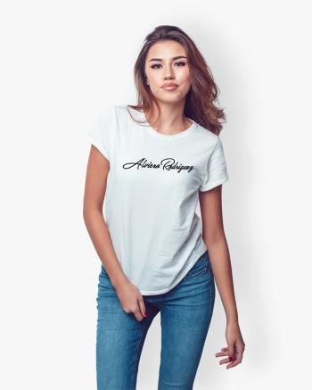 T-Shirt Donna Bianca Signed