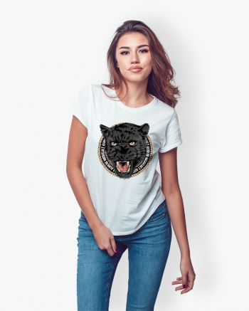 T-Shirt Donna Chain Panther