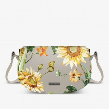 Aida Bag Bianca Sunflowers