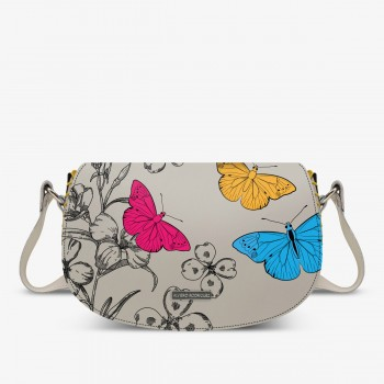 Aida Bag Bianca Vintage Butterfly
