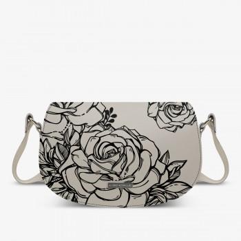 Aida Bag Bianca Roses BK