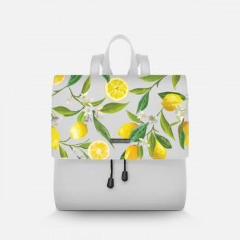Zainetto Lux Bianco Lemons